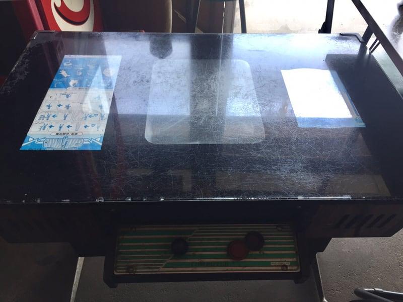 高幸食堂 秋田県大仙市 インベーダーテーブル
