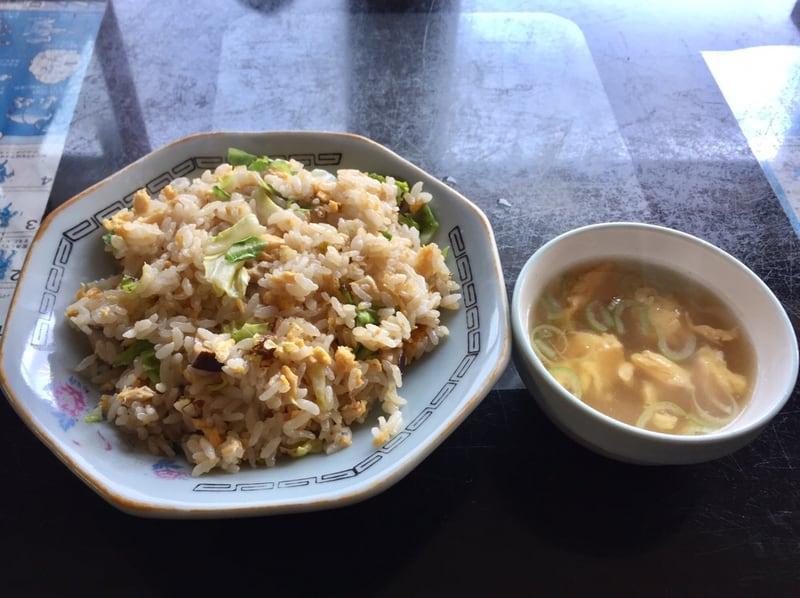 高幸食堂 秋田県大仙市 チャーハン スープ付 炒飯