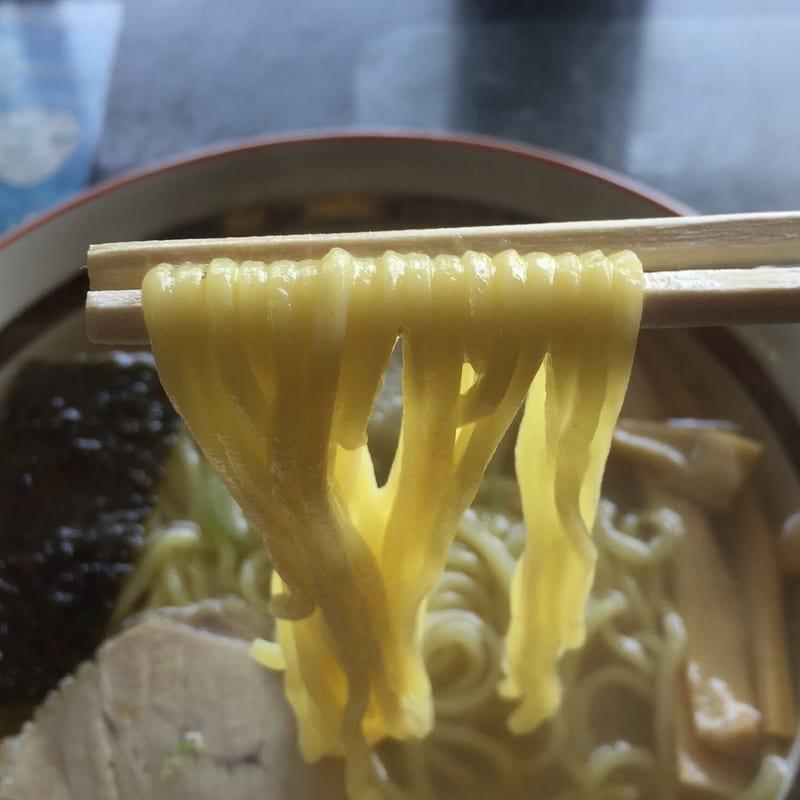 高幸食堂 秋田県大仙市 中華そば 麺