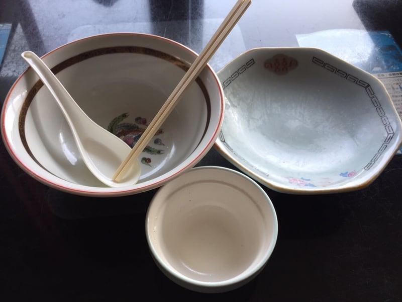 高幸食堂 秋田県大仙市 中華そば チャーハン スープ付 炒飯 完食