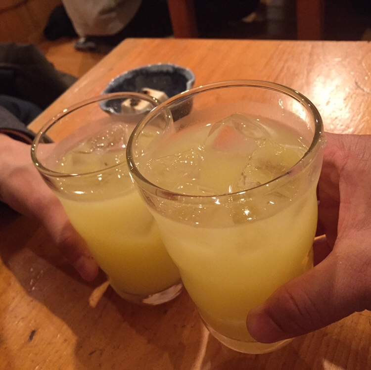 美味の店 町家 秋田市中通 乾杯