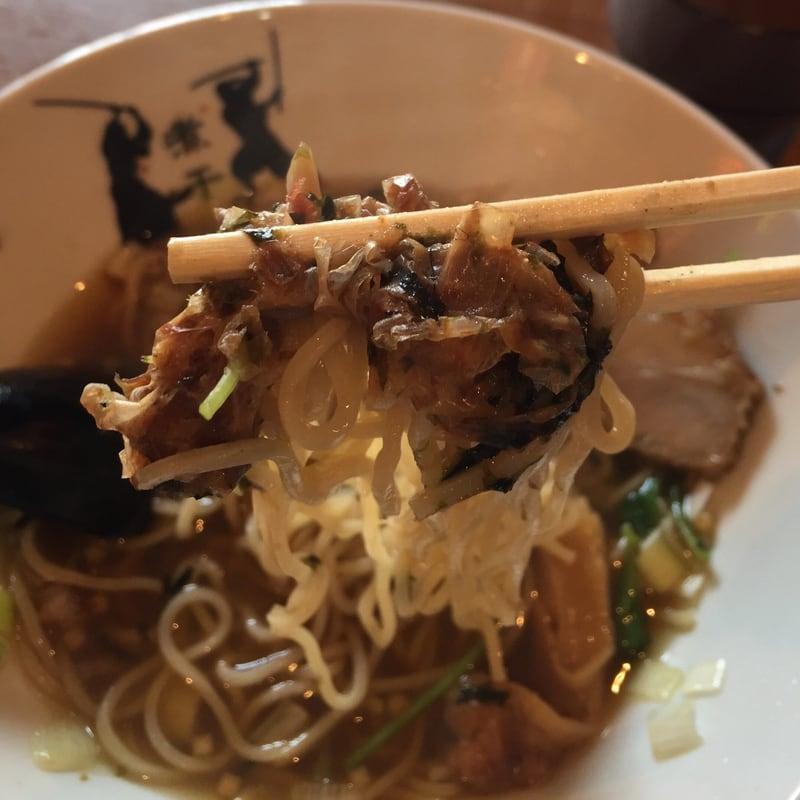 津軽煮干中華蕎麦 サムライブギー 岩手県久慈市 鰹中華 カツオ 麺 節