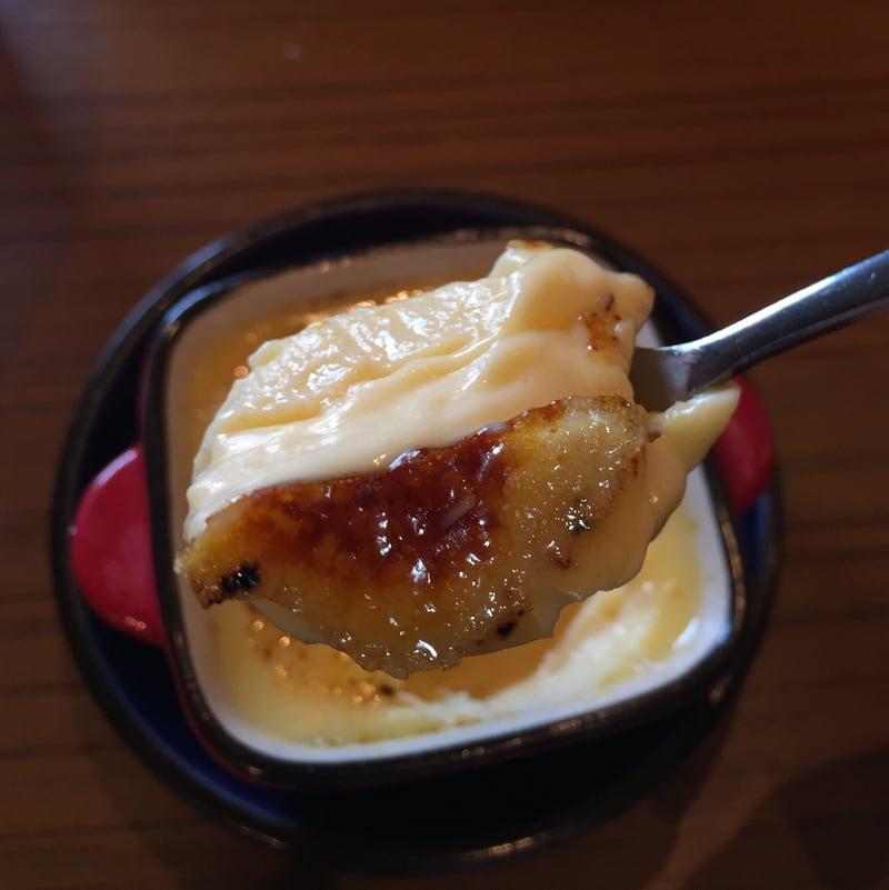 津軽煮干中華蕎麦 サムライブギー 岩手県久慈市 自家製焼プリン