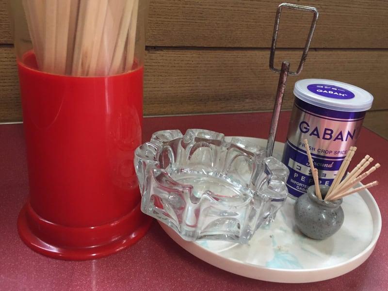 桜美食堂 秋田県仙北市角館町 中華そば 味変 調味料
