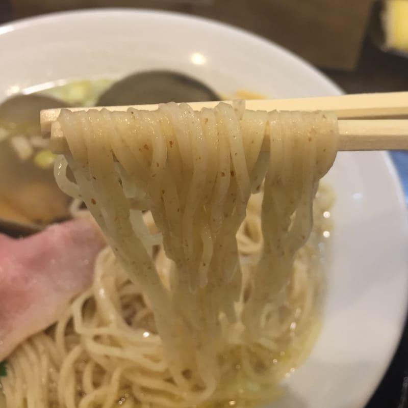 ラゥメン大地 秋田市東通 塩らぅめん 塩ラーメン 麺