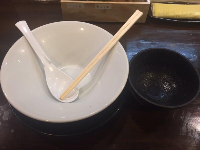 ラゥメン大地 秋田市東通 塩らぅめん 塩ラーメン 貝の炊き込みご飯 完食