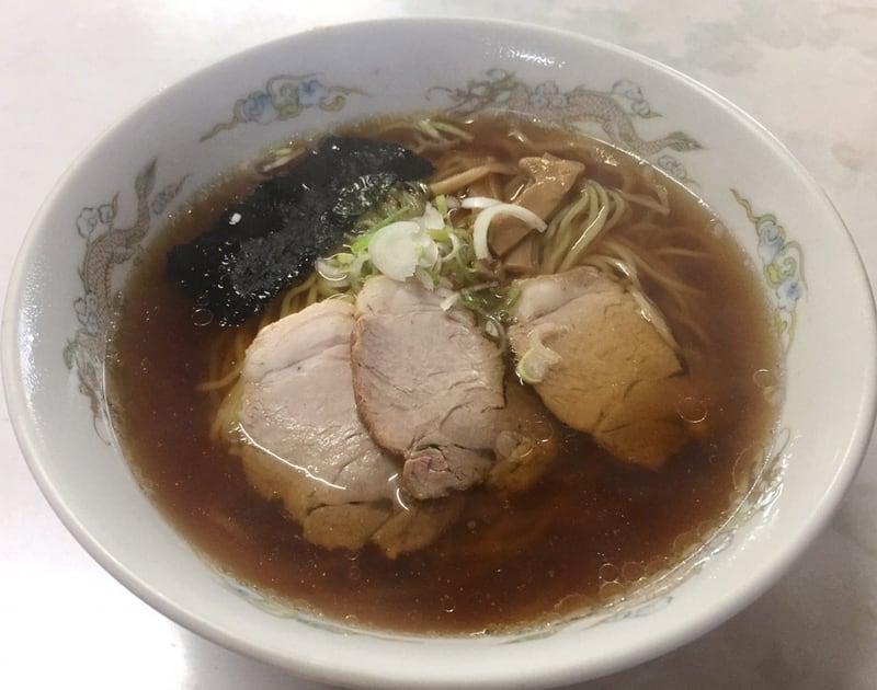 大清水ドライブイン 秋田市金足 しょうゆラーメン 醤油ラーメン