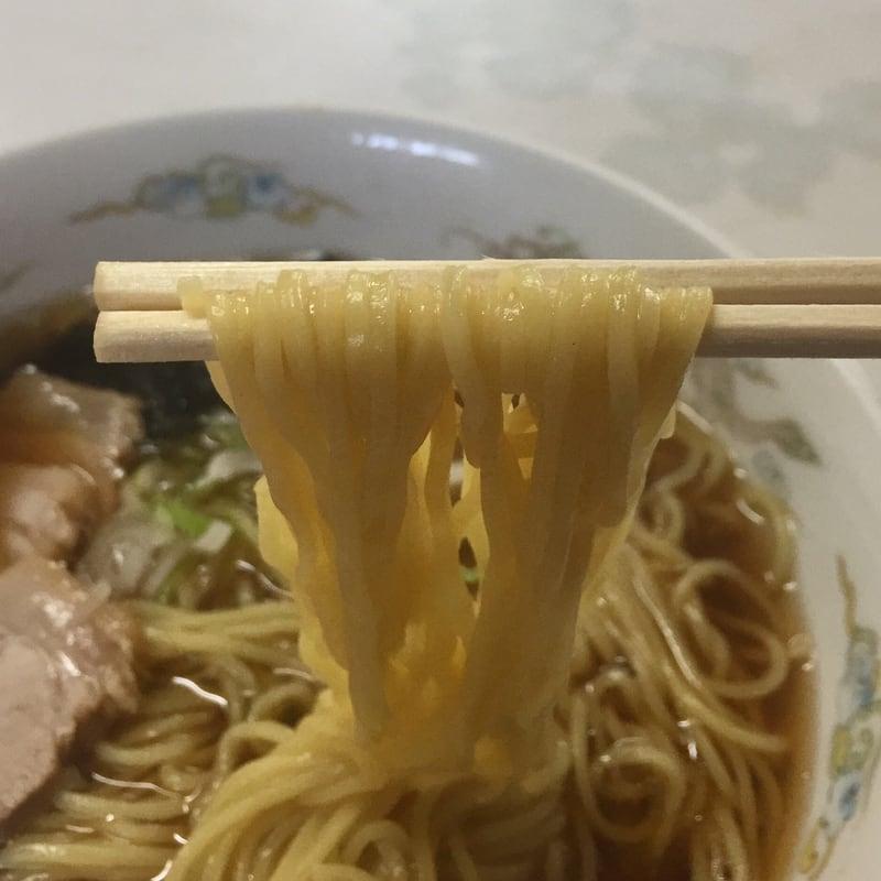 大清水ドライブイン 秋田市金足 しょうゆラーメン 醤油ラーメン 麺