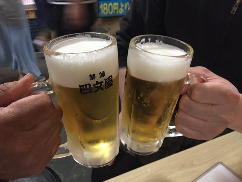 四文屋ホルモン 高円寺 乾杯