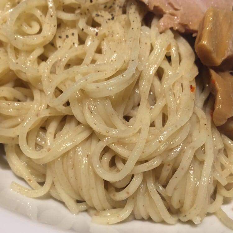 拉麺5510 大島 味禅ハラペーニョつけそば 丸長 インスパイア 麺