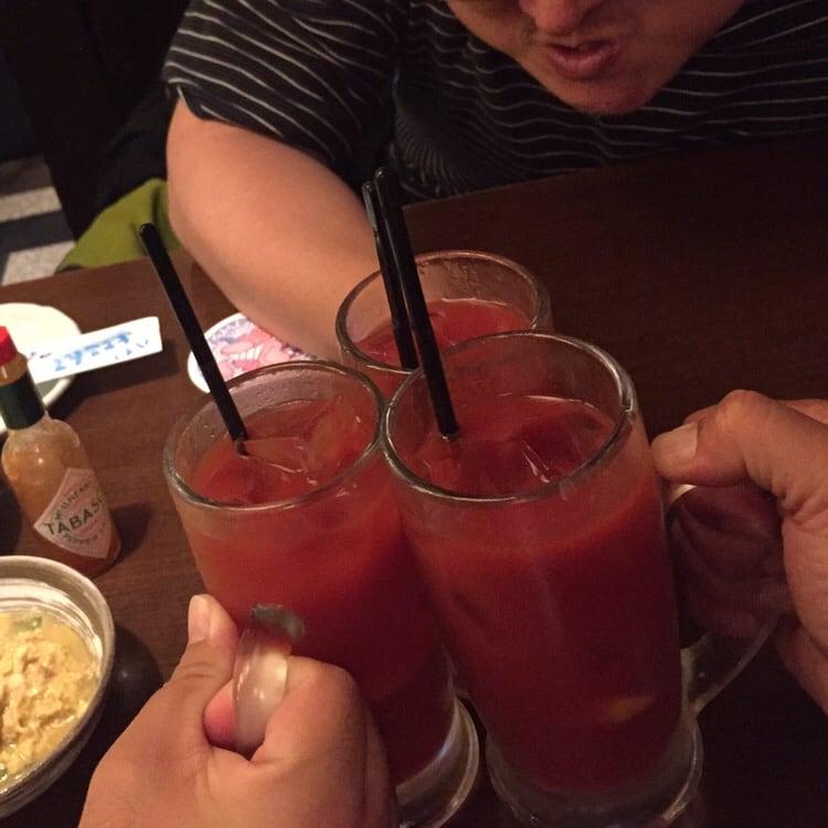 庄や 大島店 乾杯 トマトハイ