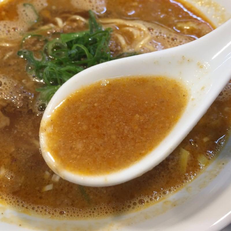 柳麺 多むら 外旭川店 秋田市外旭川 担担麺 スープ