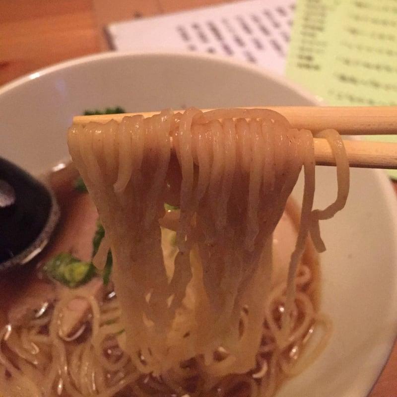 BAR JAH 秋田市大町 〆の味玉中華そば 麺