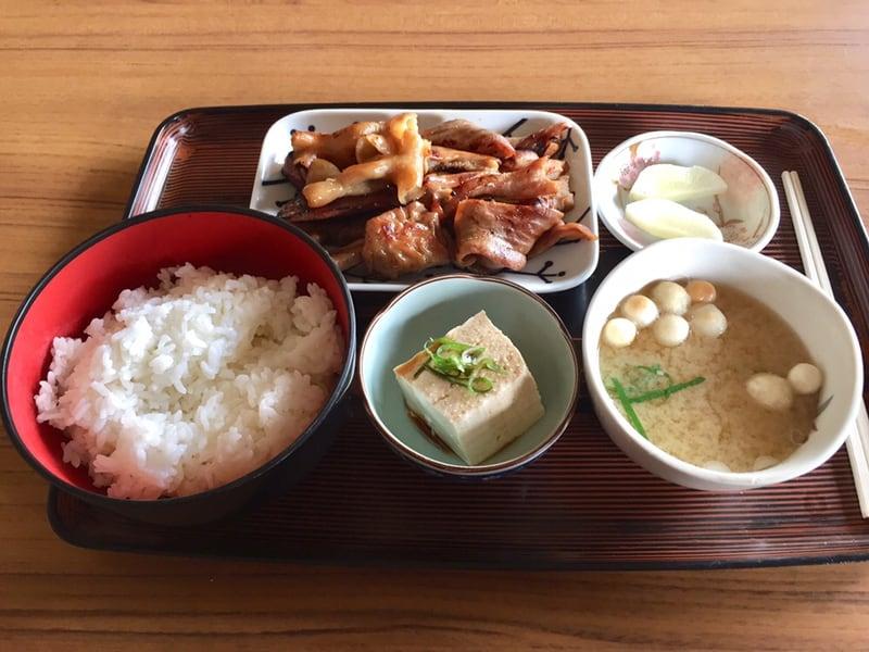 食堂二十番 秋田県大仙市太田町 ホルモン定食