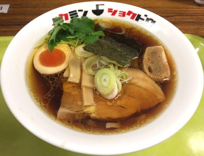 コクミンショクドウ 西武秋田店 地下催事場 初夏の北海道物産展 なま味しょうゆらーめん なましょう