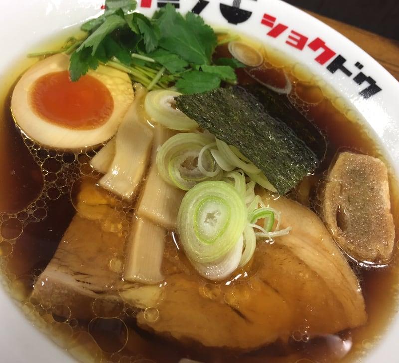 コクミンショクドウ 西武秋田店 地下催事場 初夏の北海道物産展 なま味しょうゆらーめん なましょう 具
