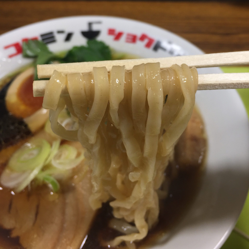 コクミンショクドウ 西武秋田店 地下催事場 初夏の北海道物産展 なま味しょうゆらーめん なましょう 麺
