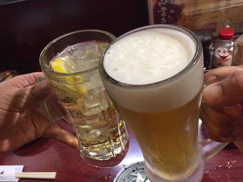 やき鳥 安さん 秋田市大町 生ビール 乾杯
