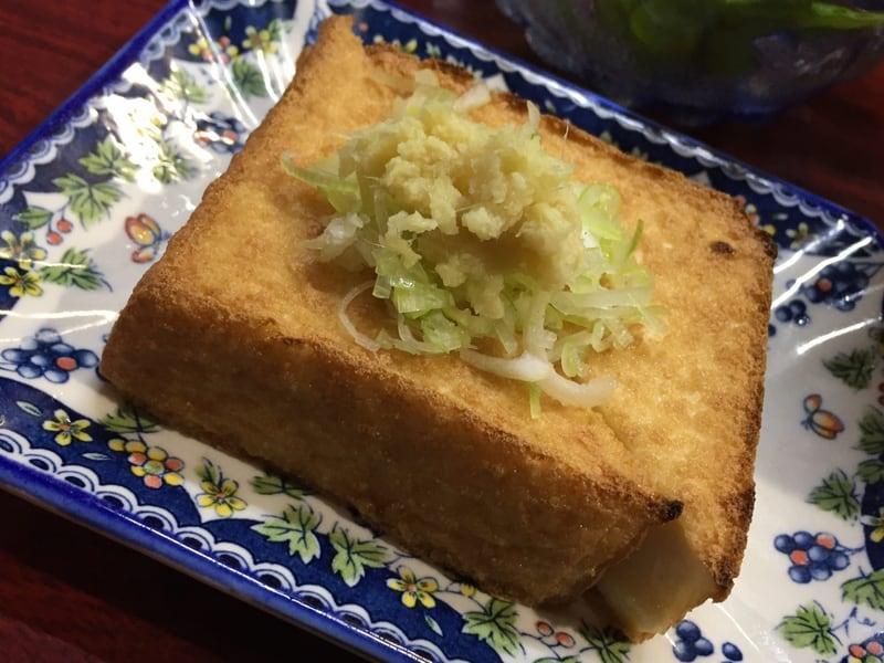 やき鳥 安さん 秋田市大町 揚げだし豆腐