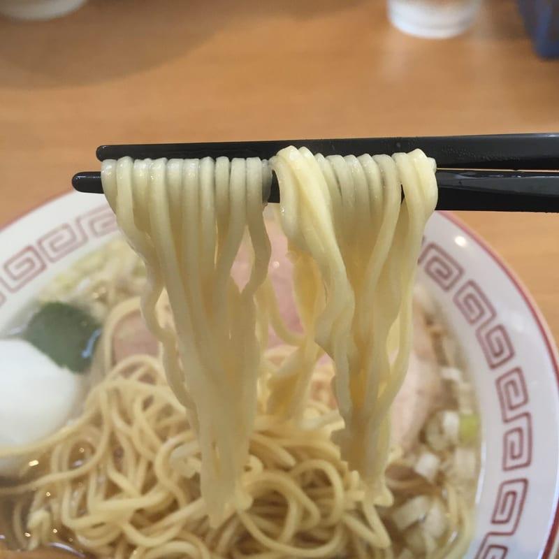 自家製麺 麺や二代目 夜来香 秋田市飯島 中華そば 中華ソバの麺
