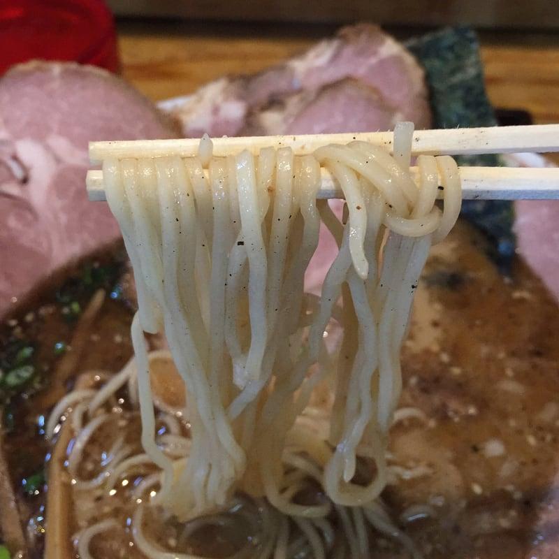 さらや 秋田市八橋 しょうゆチャーシュー さらやそば 醤油ラーメン 麺