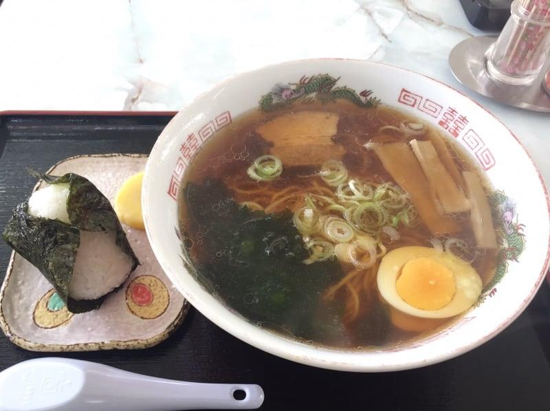 おにぎり いっぷくや 秋田県大仙市協和 ラーメン 鮭おにぎり