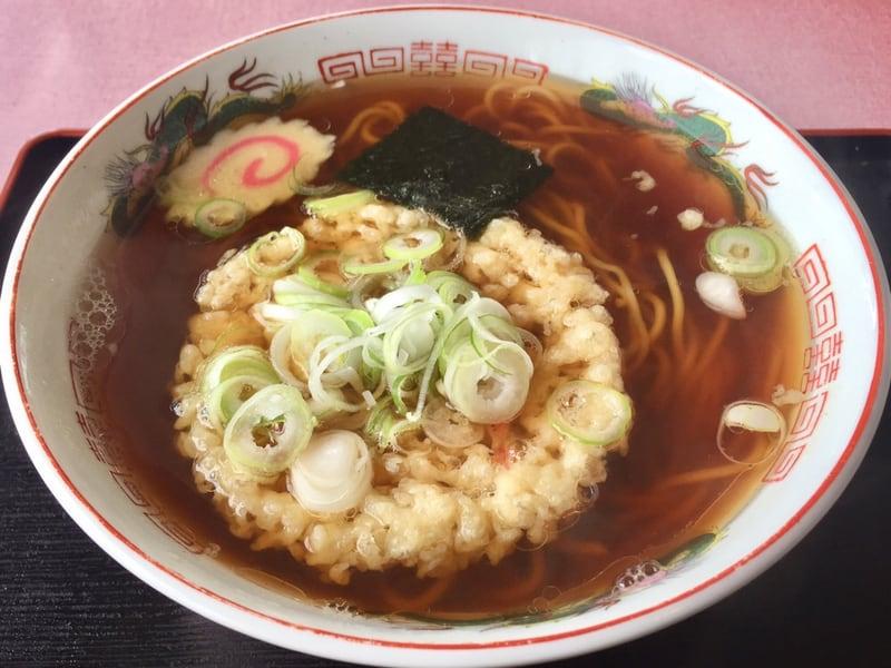 うえの食堂 秋田県仙北市角館町 天ぷら中華