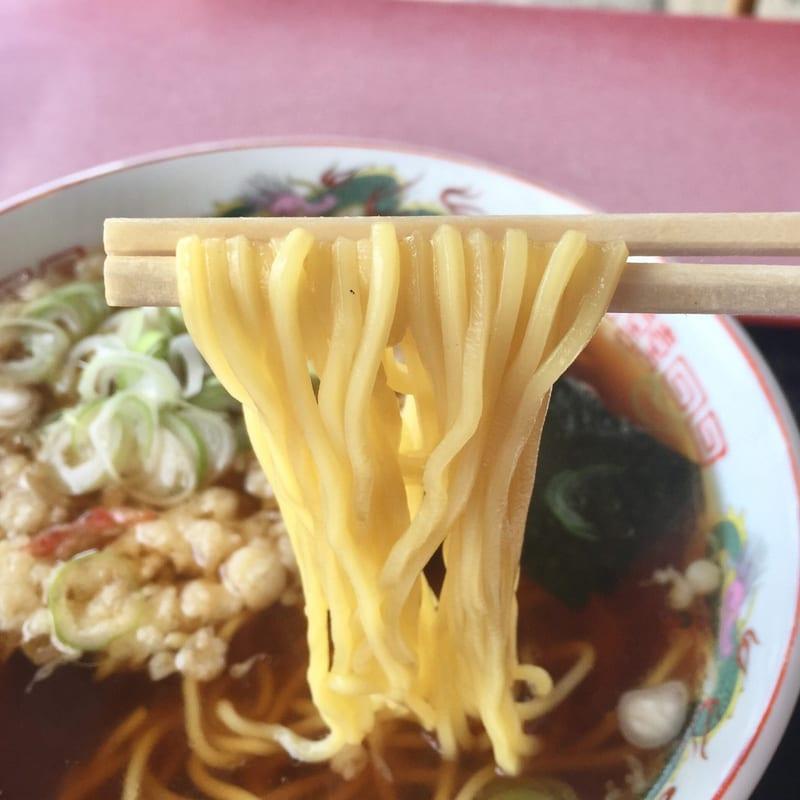 うえの食堂 秋田県仙北市角館町 天ぷら中華 麺
