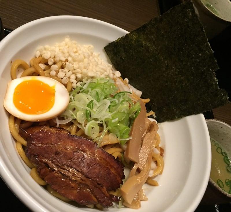 麺酒菜 おり座 秋田県大仙市 煮干しの油そば まぜそばセット 具