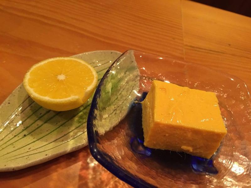 日本料理たかむら 秋田市大町 甘味 マンゴープリン オレンジ
