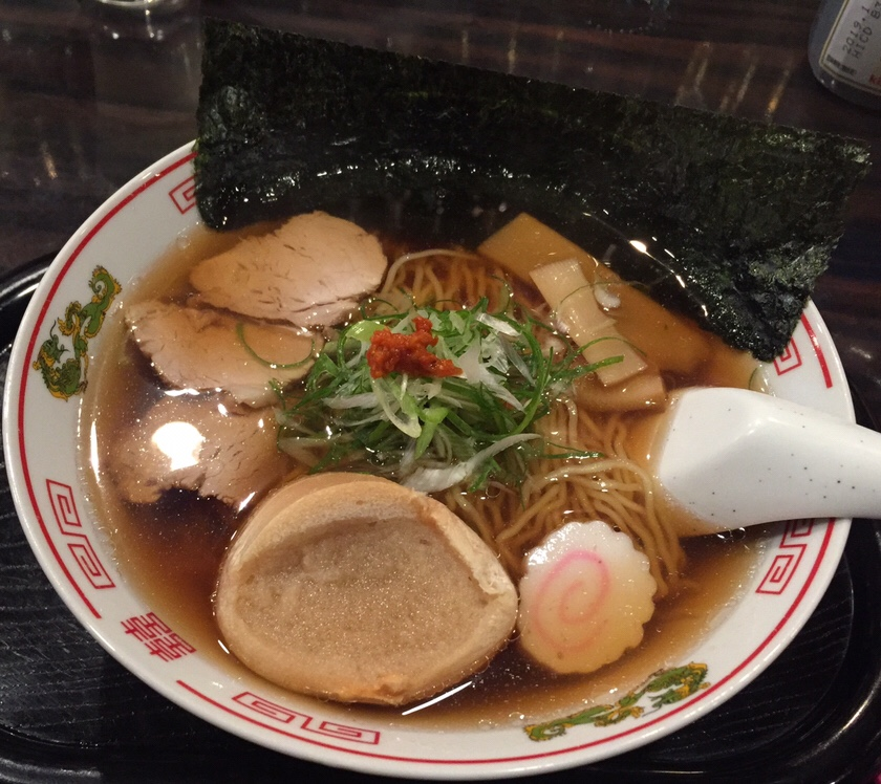 飲み処andキッチン ほのじぐみ 秋田市南通 ハマちゃんラーメン 鶏ガラ 醤油ラーメン
