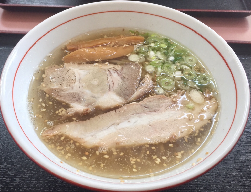 こだわりらーめん麺太 錦町店 山形県酒田市 塩ラーメン