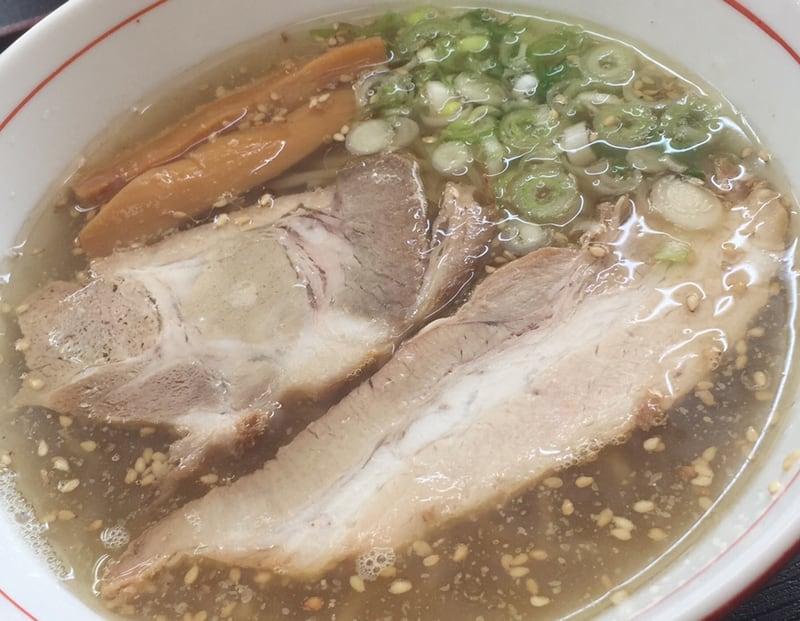 こだわりらーめん麺太 錦町店 山形県酒田市 塩ラーメン 具
