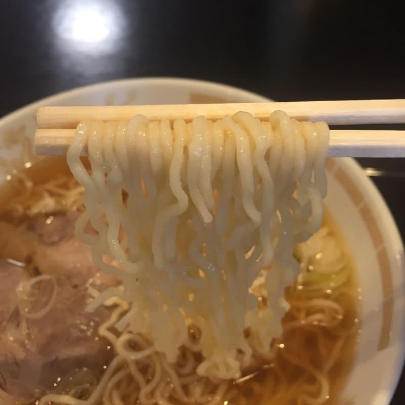 東軒 山形県酒田市 ラーメン 小 麺