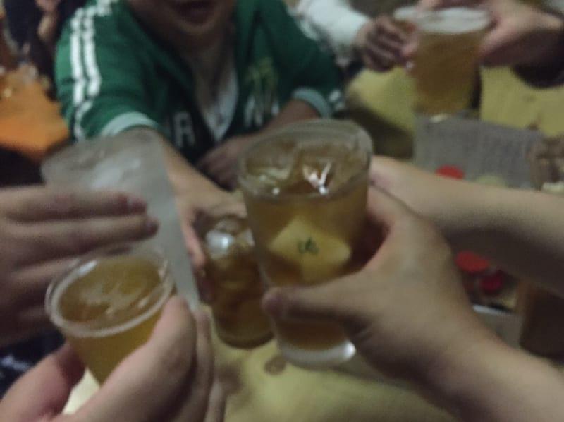 鶴岡屋 寿町店 山形県酒田市 ウーロンハイ 乾杯