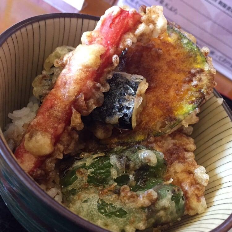 美食酒家 空べぇ~ 秋田県横手市 ミニ天丼セット
