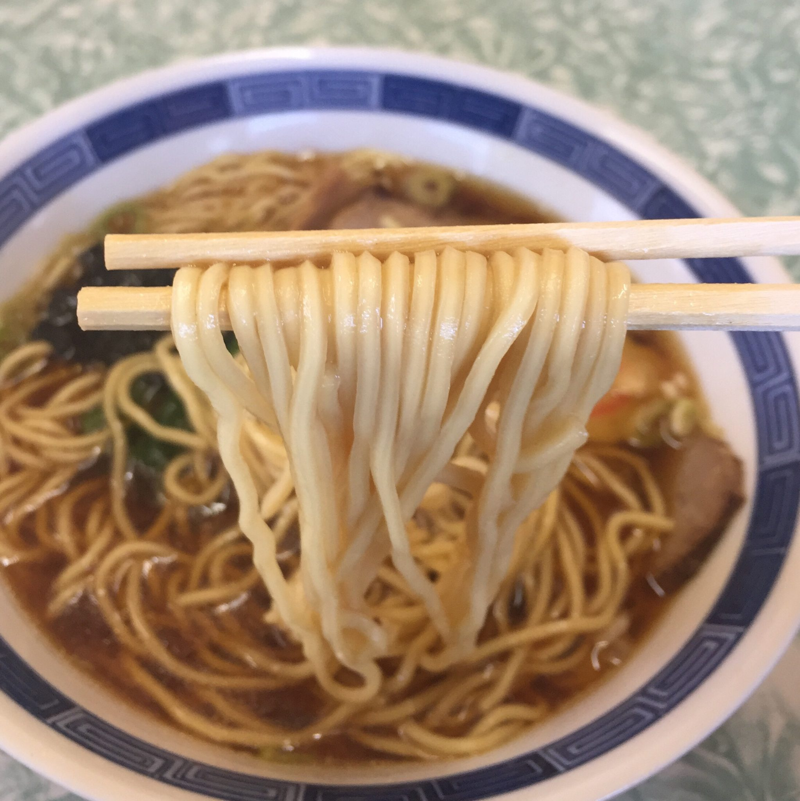 中華料理 なぎさ亭 福島県いわき市 ラーメン 麺