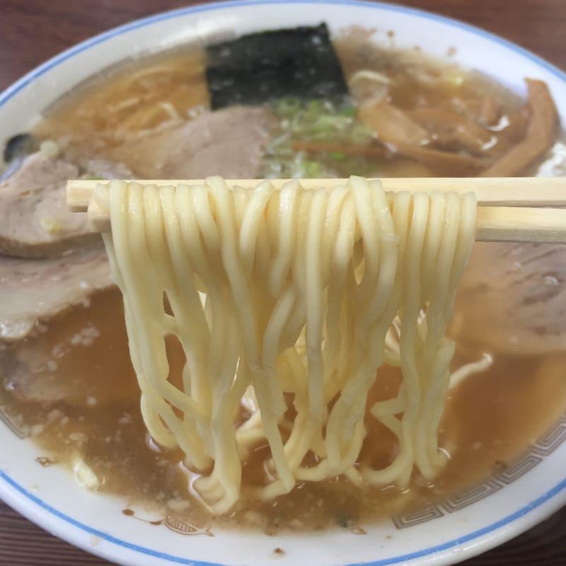 チーナン食堂 福島県いわき市 ラーメン 麺