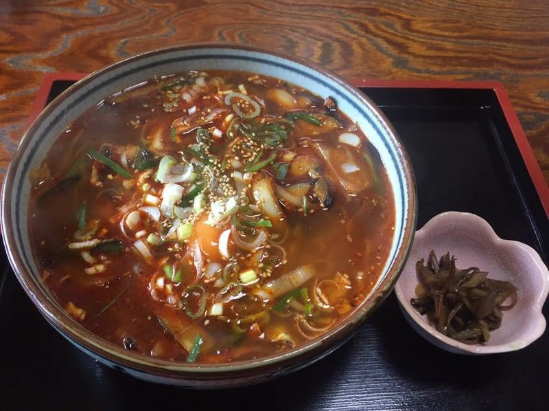 お食事処マルホ 秋田市外旭川 辛い韓国風ラーメン