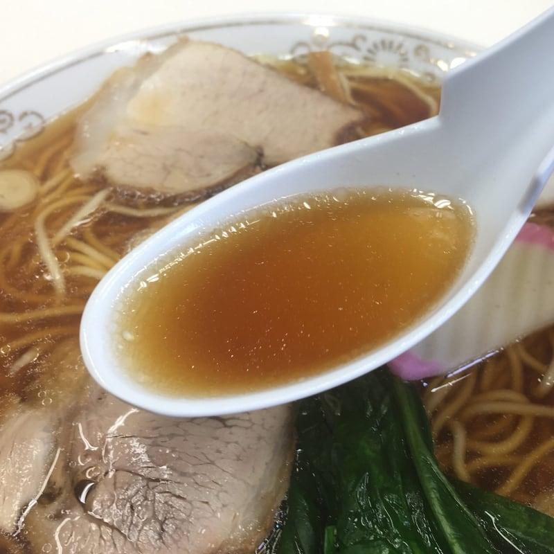 味世屋食堂 福島県いわき市 ラーメン スープ