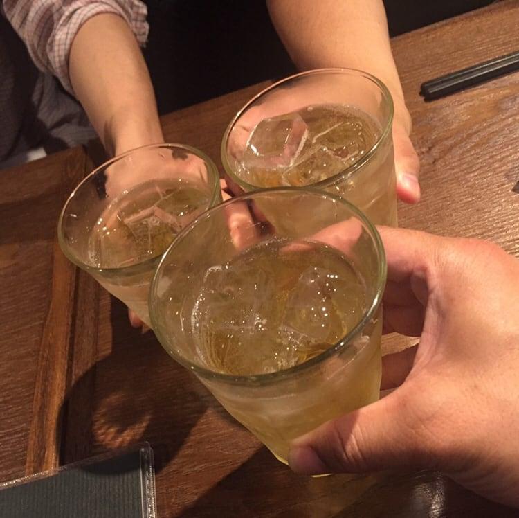 四川Dining&bar 臥龍 創香(がりゅう そうしゃん) 秋田市山王 ハイボール 乾杯