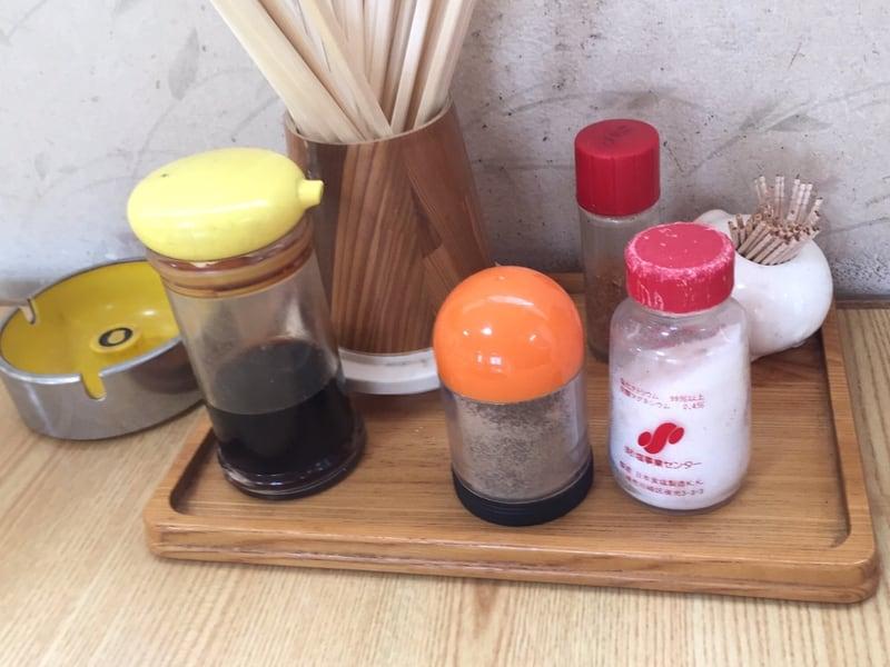 とん亭 秋田県仙北郡美郷町 カツミソラーメン 味噌ラーメン 味変 調味料