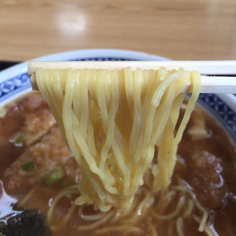 とん亭 秋田県仙北郡美郷町 カツミソラーメン 味噌ラーメン 麺