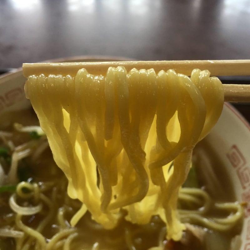 雲沢観光ドライブイン 秋田県仙北市角館町 タンメン 麺