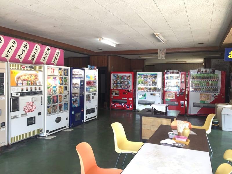 雲沢観光ドライブイン 秋田県仙北市角館町 24時間営業 自動販売機コーナー