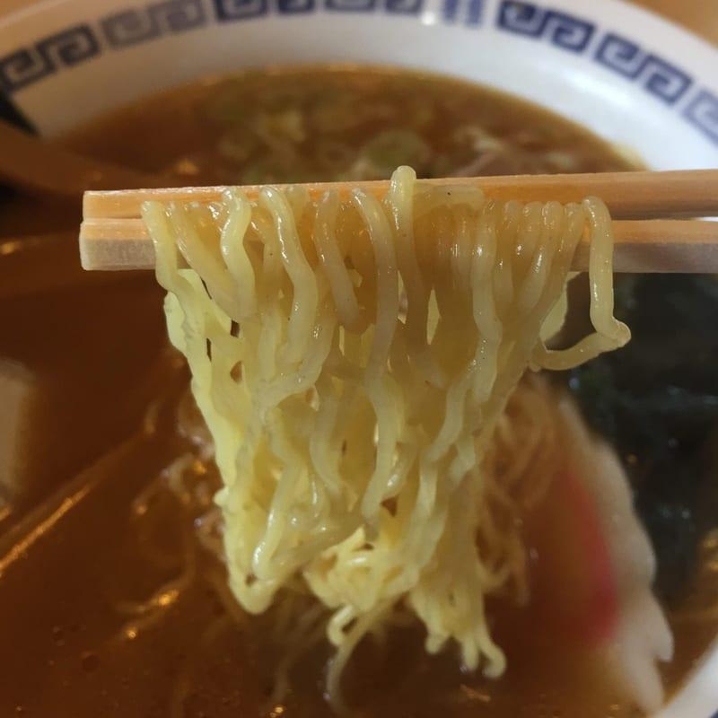 ログハウス木'S(キッズ) 秋田市新屋 味噌ラーメン 麺