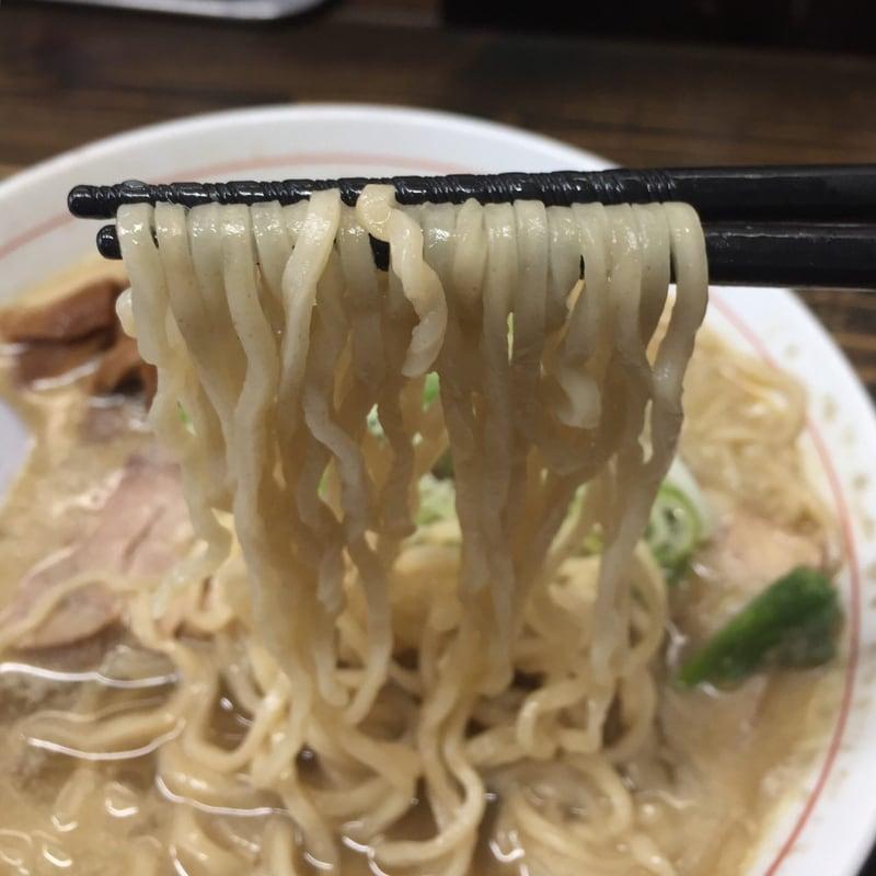 中華そば 文四郎 青森県弘前市 濃厚煮干中華 麺