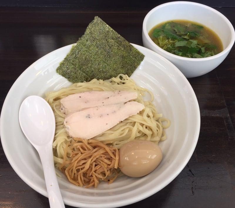 麺屋 満開 秋田市広面 味玉のせ つけそば つけ麺