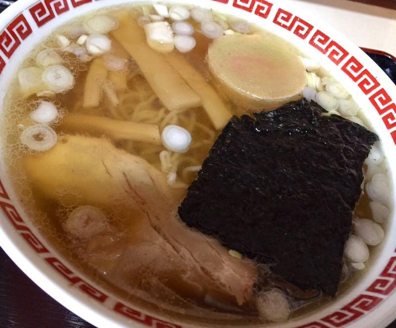 定食たかはし 秋田県横手市十文字町 中華そば 具