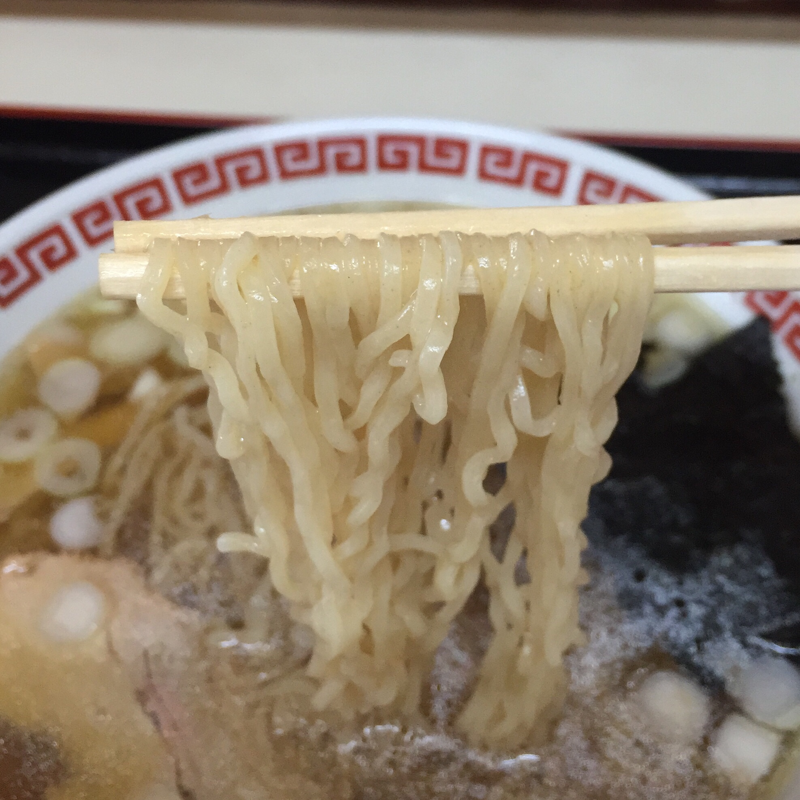 定食たかはし 秋田県横手市十文字町 中華そば 麺
